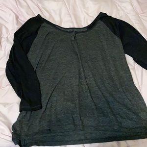 Simple Black and Gray Tshirt